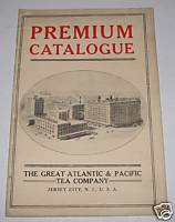 1910s Atlantic & Pacific Tea Company Premium Catalog